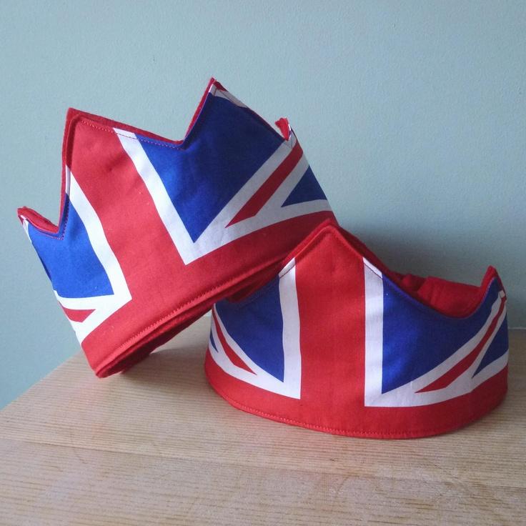Union Jack crowns