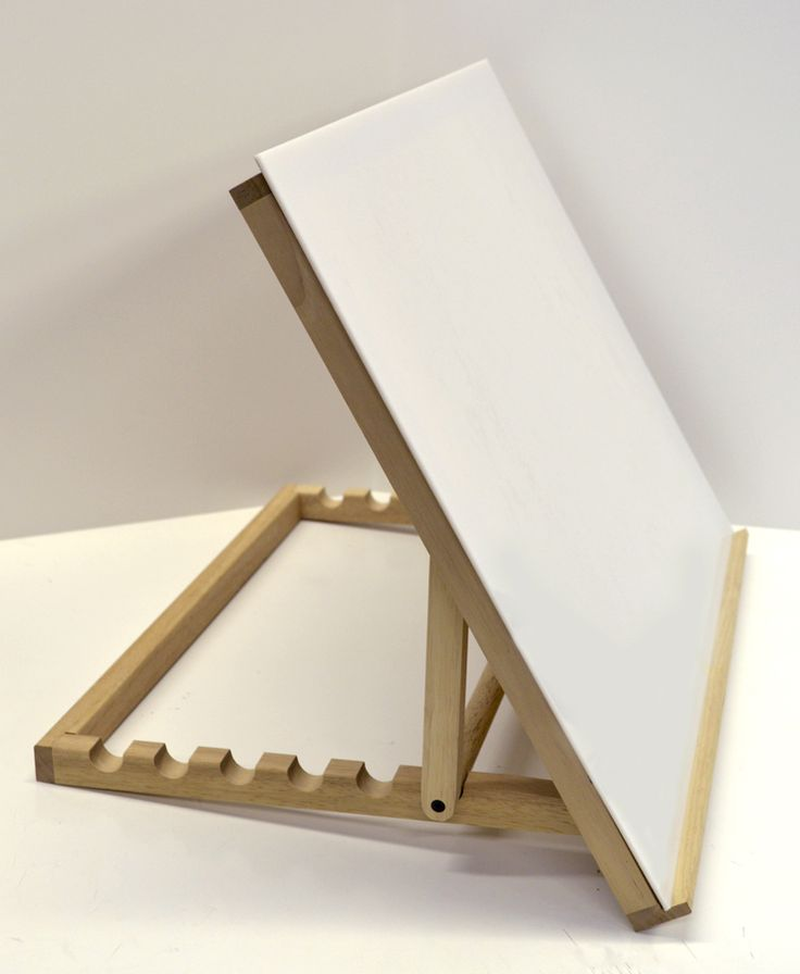 tabletop drawing board easel 3