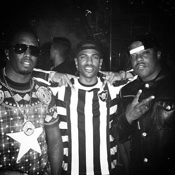 Big Sean in Aura Gold at Drake OVO Fest