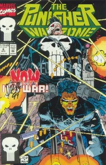 The Punisher: War Zone (Marvel, 1992) #6