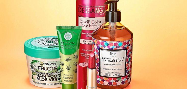 """Rouge à lèvres universel, shampoing fortifiant, savon estival… la sélection """"s…"""