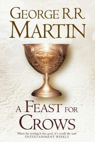 A Feast for Crows  (Song of Ice and Fire, book 4) by George R R Martin. I thought this was great, dragged on slightly in parts. This only details what happens in the South, King's Landing, etc. I'd be a bit pissed off if I didn't have the next book.