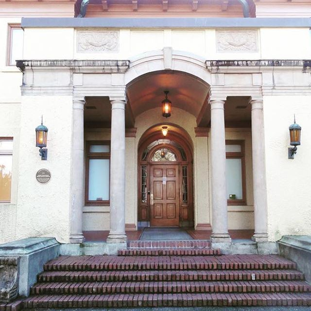The Lord Mansion, formerly Olympia Capital Museum (1923) is a testimony to the enduring quality of WA state support for historic preservation. We are looking forward to providing our building envelope science services to repair the front porch area. >< #pmapdx #olympia #architecture #buildingenvelope #historicarchitecture #historicpreservation #buildingscience #preservation #design #stoneveneer #plaster #wa