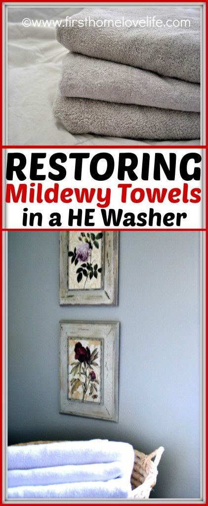How to brighten and freshen towels in an HE washer