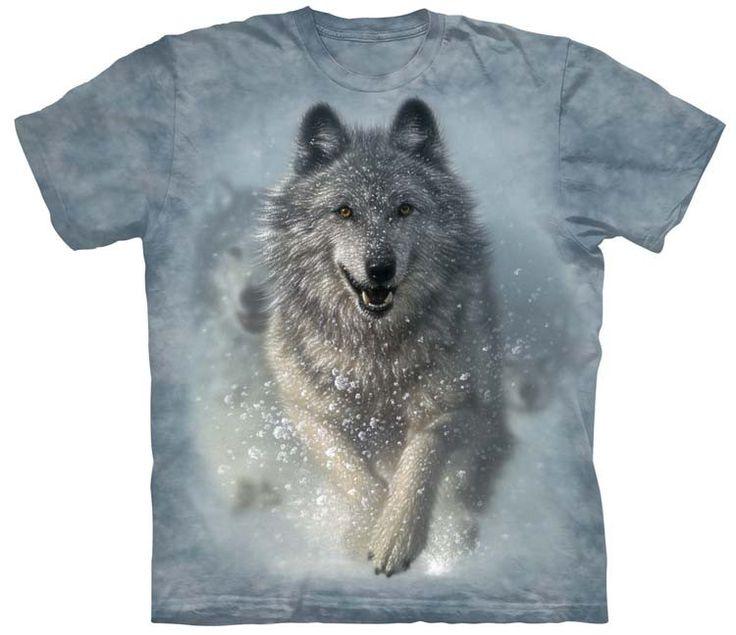 Wolves Thru Snow