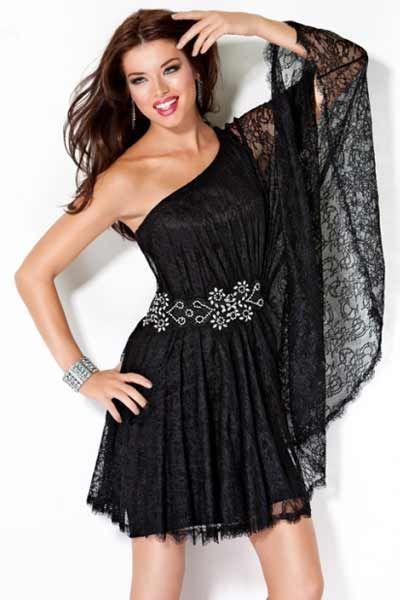 vestidos de noche cortos 2013 - Buscar con Google