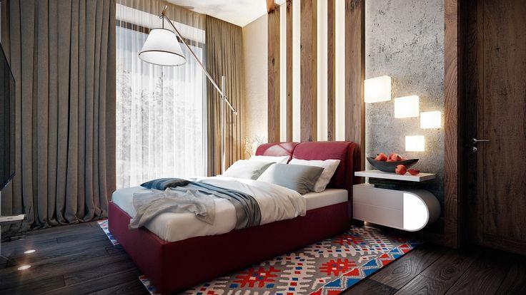 Спальня в загордном доме #дизайнспальни #дизайнкомнаты #дизайнинтерьера #спальня #дизайнквартиры #interiordesign #bedroomdesign