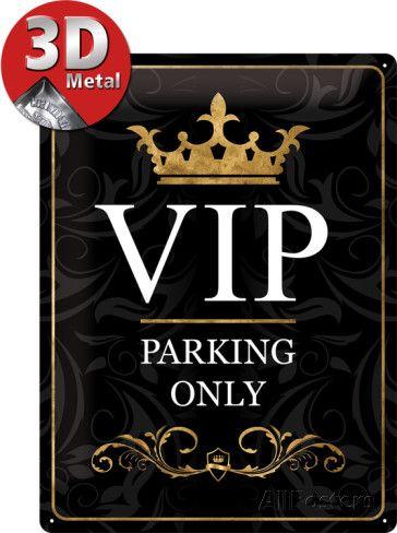 VIP Parking Only Blikken bord - bij AllPosters.be
