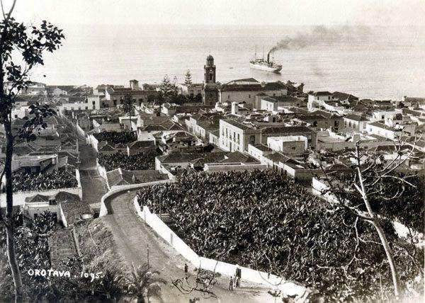 Puerto de la Cruz, Tenerife, circa 1920