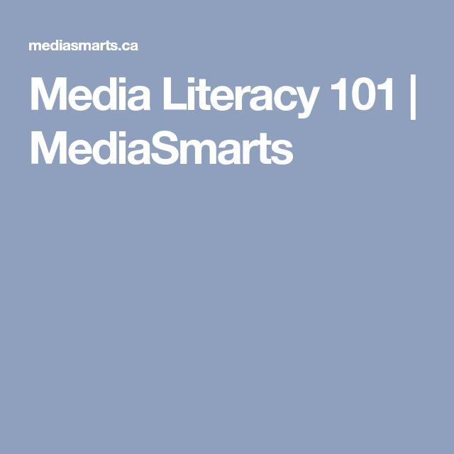 Media Literacy 101 | MediaSmarts