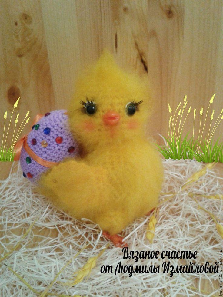 Купить Цыплёнок. Пасхальный цыплёнок. Авторская работа. - цыпленок, цыплята, цыпа, пасхальный цыпленок