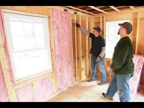 How to Install Fiberglass Insulation - This Old House - YouTube