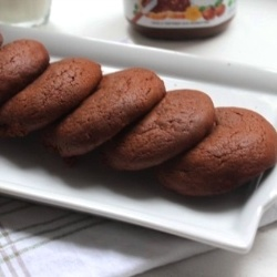 Nutella cookies by clementinecuisine