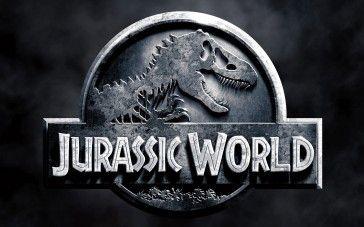 Jurassic World 2015 Logo Poster Wallpaper