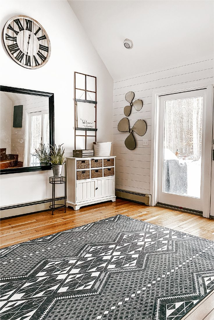 Farmhouse Entryway Washable Rugs Washable Rugs Farmhouse Entryway Machine Washable Rugs Living room runner rug