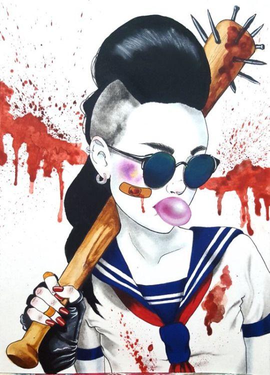 Harumi Hironaka, Illustrations.