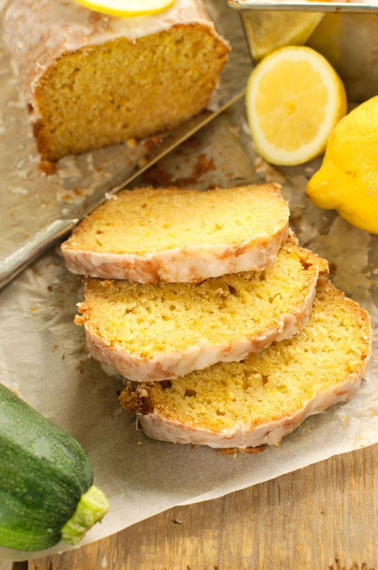 Cytrynowe ciasto z cukinii