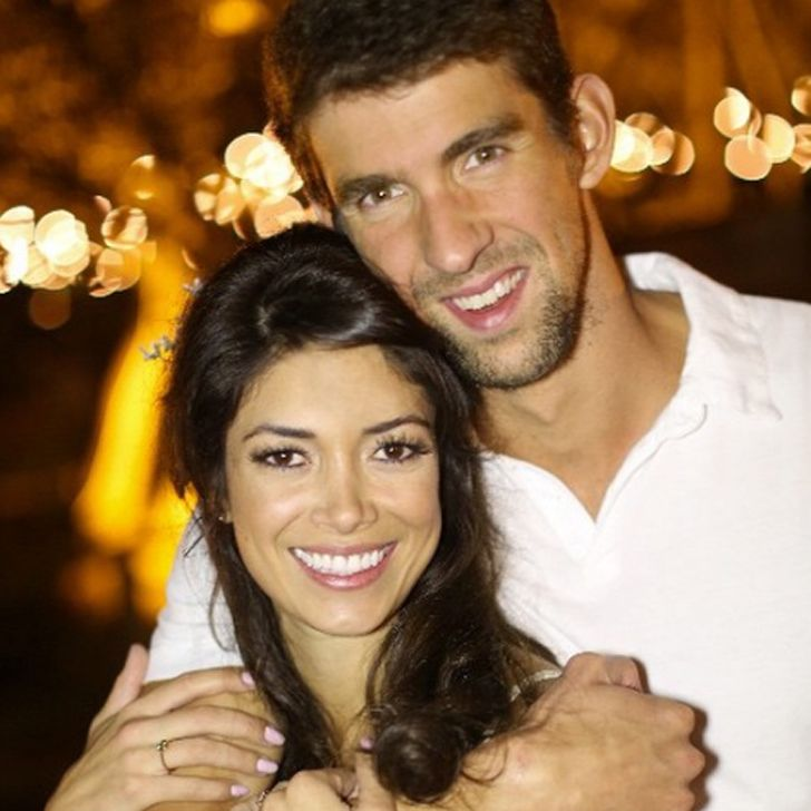 Michael Phelps and his fiancée, Nicole Johnson, first began dating in 2007, and after taking a short break in 2011, the pair reunited in 2014.