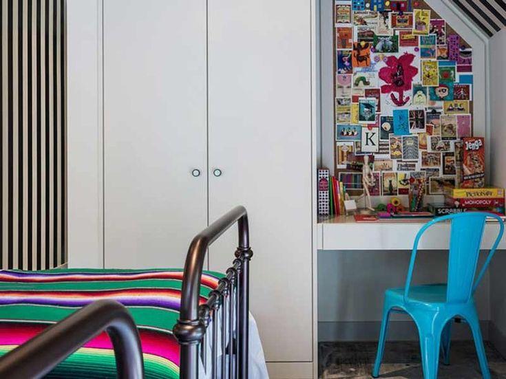 Supermodel abusou das cores na decoração de outro quarto da casa