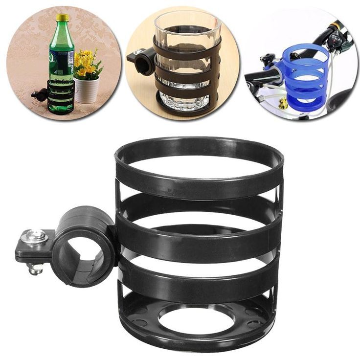 Portable Bikes Bicycle Water Drink Bottle Cup Cage Holder Mount Stand Outdoor