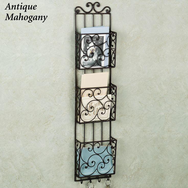 50 best images about 258 letter holders on pinterest - Letter rack and key holder ...
