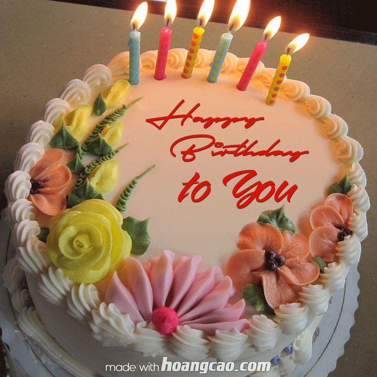 HappyBirthdayToYou2.gif 1,020×1,020 pixels Birthday cake