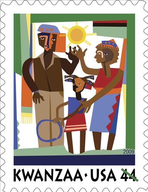 World Stamp Show-NY 2016 wishes you a Happy #Kwanzaa!