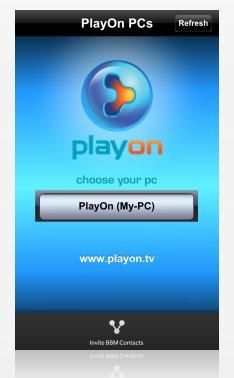 PlayOn On BlackBerry 10 Delivers Netflix, Hulu, HBO GO, 60+ Channels
