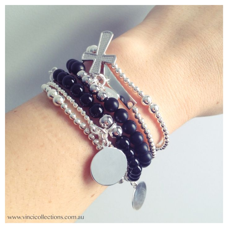 Bracelet Stack || How do you stack your VINCI pieces?? Shop Now || Website Available  www.vincicollections.com.au
