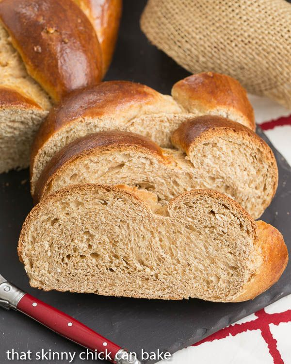 Whole Wheat Challah | A chewy, delicious and slightly sweet whole ...