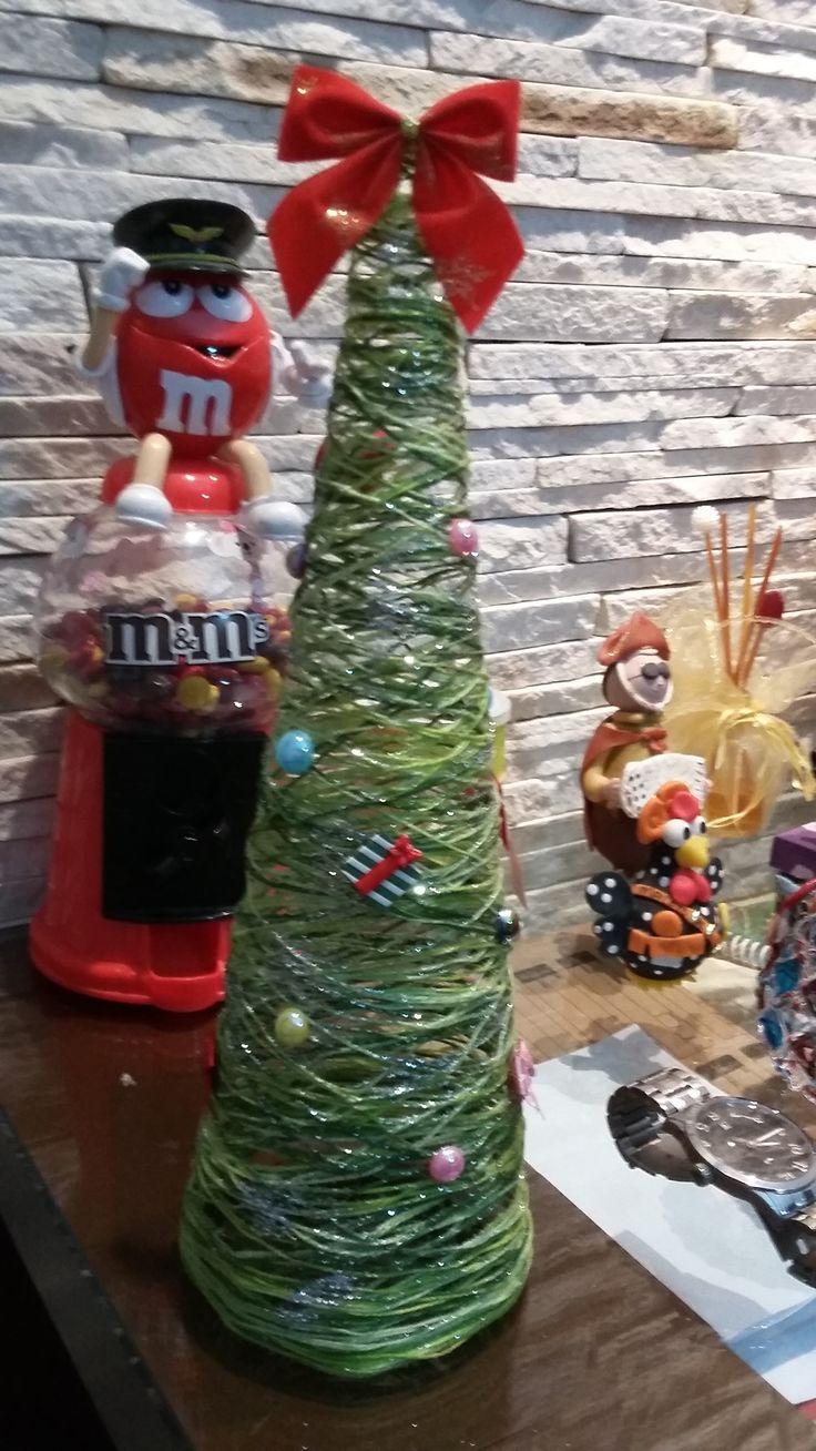 Árvore de Natal em linha