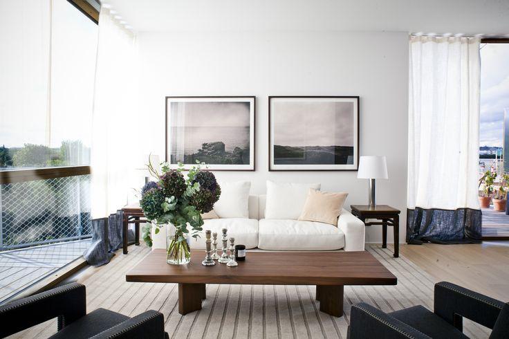 #oscarproperties  Oscar Properties  79&Park, Gärdet, Stockholm, BIG, Oscar Properties, interior, design, flower, windows, stockholm, sweden, carpet, living room, chairs, curtains
