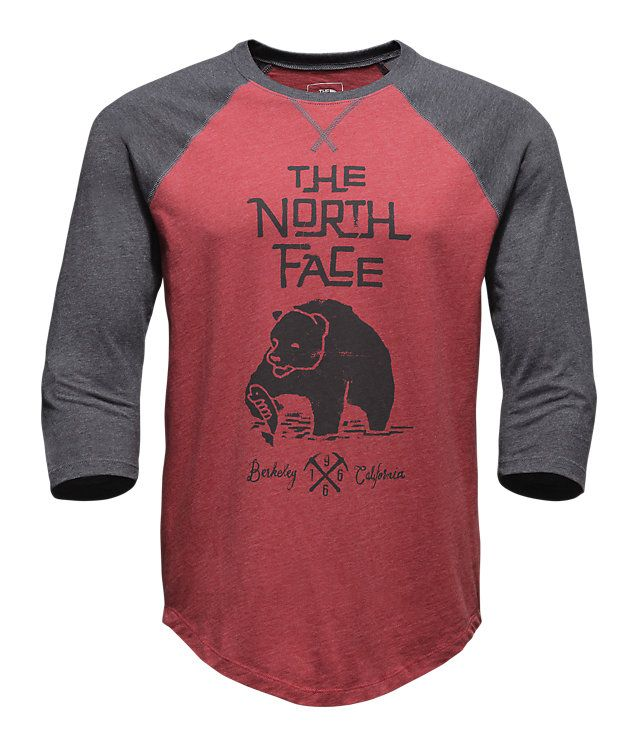 MEN'S 3/4 GRIZZLY BASEBALL TEE