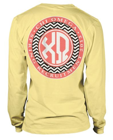 Chevrons and Monograms!