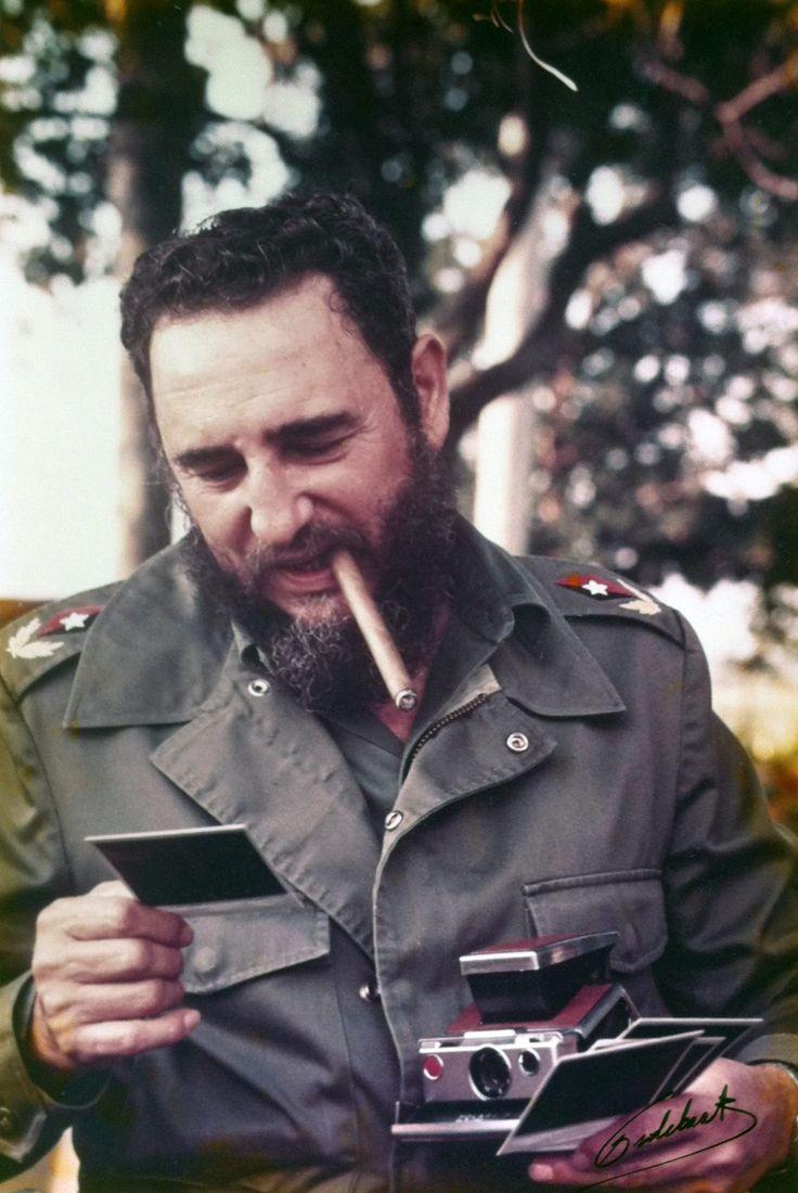 Fidel Castro, 1976 Photographer Fred Ward