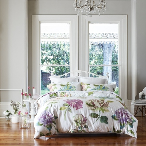 Mercer + Reid Protea Water Colour Quilt Covers & Coverlets www.adairs.com.au/bedroom/quilt-covers-&-coverlets/mercer-+-reid/protea-water-colour/