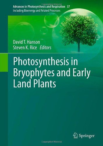 This volume brings together experts on bryophyte photosynthesis whose research spans the genome and cell through whole plant and ecosystem function and combines that with historical perspectives on the role of algal, bryophyte and vascular plant ancestors on terrestrialization of the Earth. (résumé de l'éditeur)