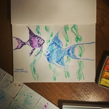 Скалярия, art, grafics, illustration, design