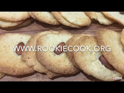 Almond Cream Cheese Cookies - Rookie Cook