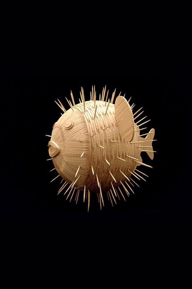 24 best puffer fish art images on pinterest puffer fish for Puffer fish art