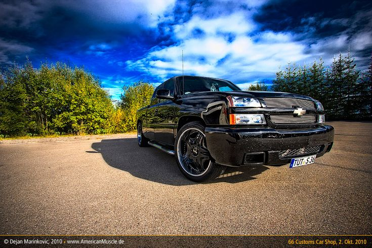 chevy silverado ss by AmericanMuscle.deviantart.com on @DeviantArt