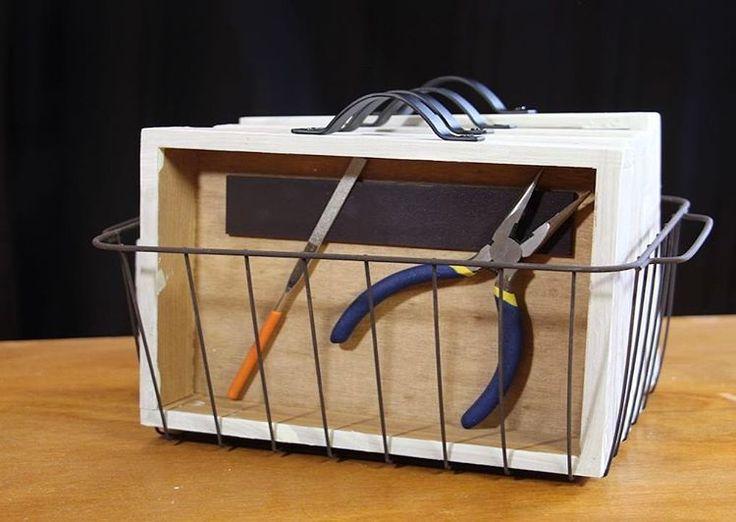 100均diyで収納ボックスを作りました。 アクセサリーや工具などいろんな