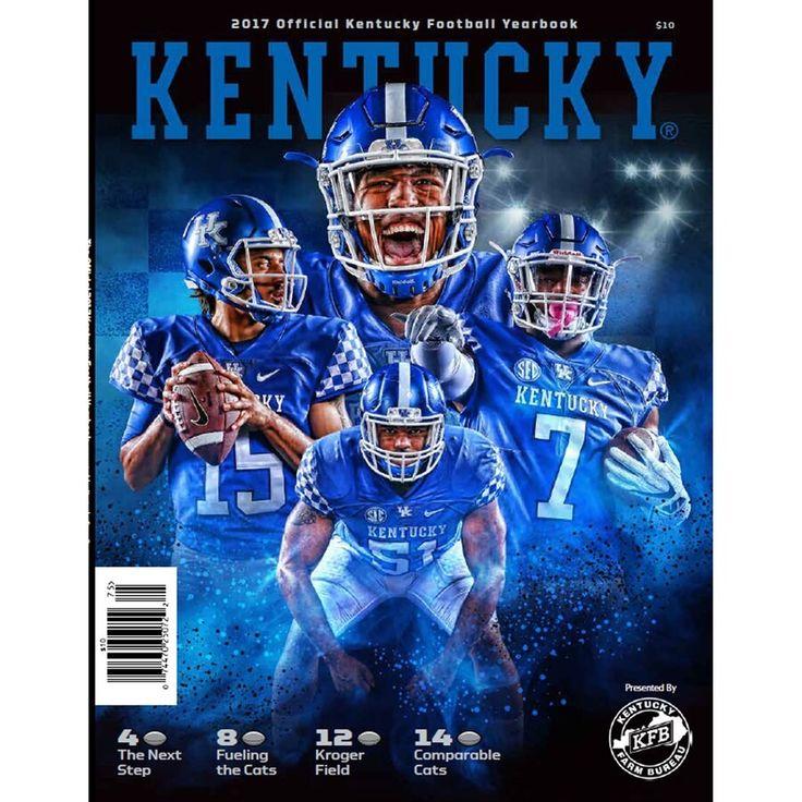 Kentucky Wildcats 2017 Football Yearbook in 2020