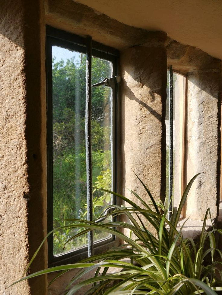 Downstairs windows with new, heritage council approved double glazing.