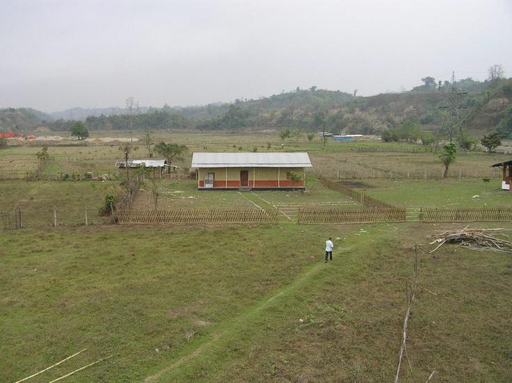 Top View of Art of Living Arunachal Pradesh Ashram 1