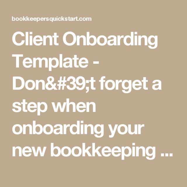 Client Onboarding Template - Don't forget a step when onboarding your new bookkeeping & tax clients. Automated systems to allow you to scale and grow your business. Automate and delegate to your team with ease with the help of 17 Hats.