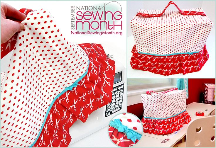 Skirted Sewing Machine Cover | Sew4Home