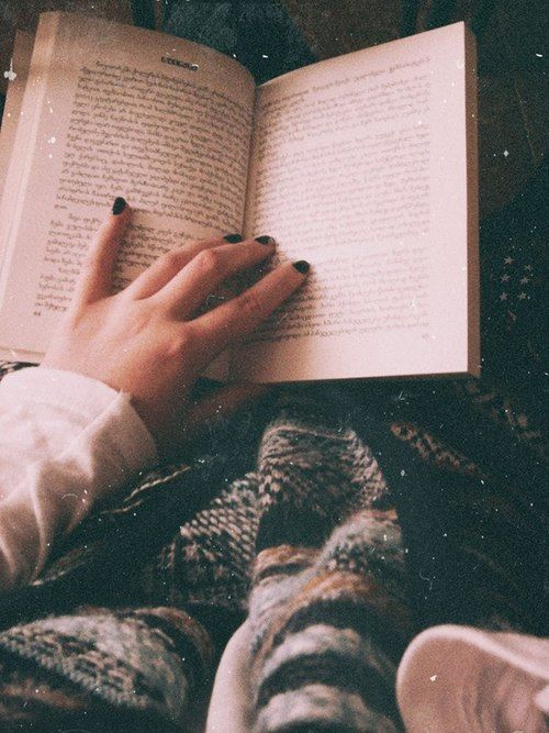 Blanket and a book