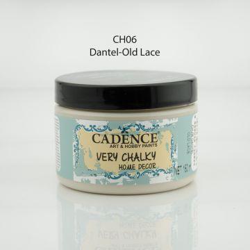 CH06 Dantel - Very Chalky Home Decor mutfak ve yatak odası için gelen mesajda önerilen renk