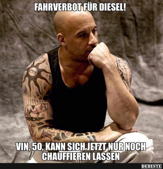 Fahrverbot für Diesel! | Lustige Bilder, Sprüche, Witze, echt lustig